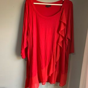 Lane Bryant 18/20 red top